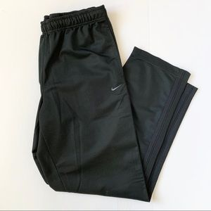 Nike Athletic Black Drawstring Pants Size Large